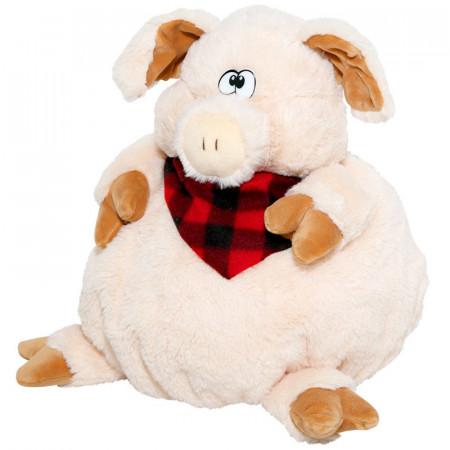 Сладкий детский новогодний подарок в мягкойупаковке-игрушке Портос 1100 грамм в комплектации стандарт.
