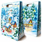 Сладкие новогодние подарки из шоколадных конфет без карамели в Москве
