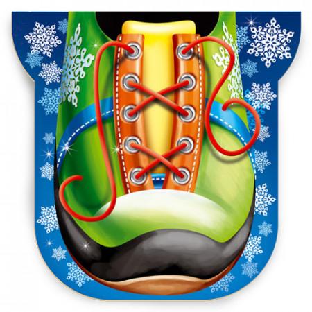 Дед Мороз на коньках 900 грамм стандарт