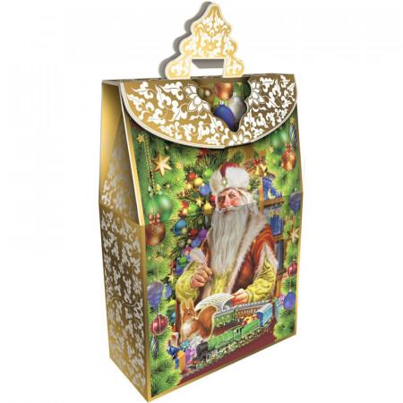 Сладкий новогодний подарок Традиция 2600 грамм в комплектации премиум
