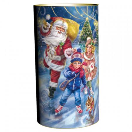 Подарок в тубе Зимние забавы 900 грамм элит