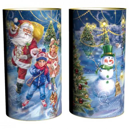 Подарок в тубе Зимние забавы 1000 грамм в комплектации премиум