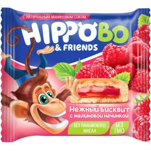HIPPO BO & friends с малиновой начинкой
