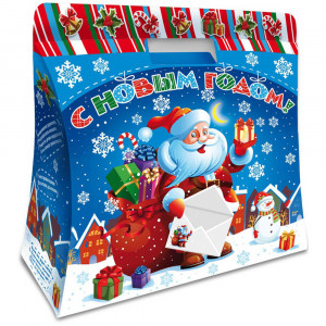 Поздравление Деда Мороза 1000 грамм элит