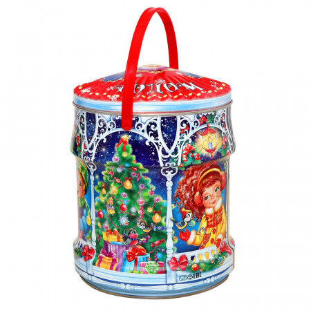 Сладкий новогодний подарок Карусель 1000 грамм стандарт