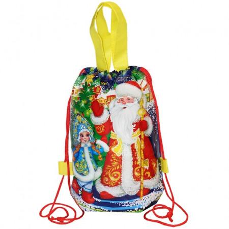 """Рюкзачок """"Дед Мороз и Снегурка"""" 1300 грамм премиум"""