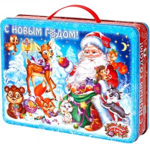 Кейс Дед Мороз 1500 грамм премиум