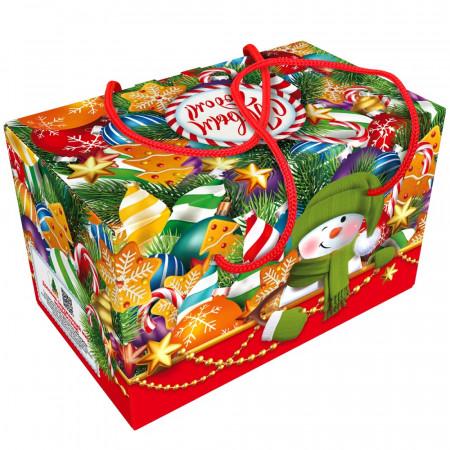 Посылка Елочные игрушки 900 грамм элит