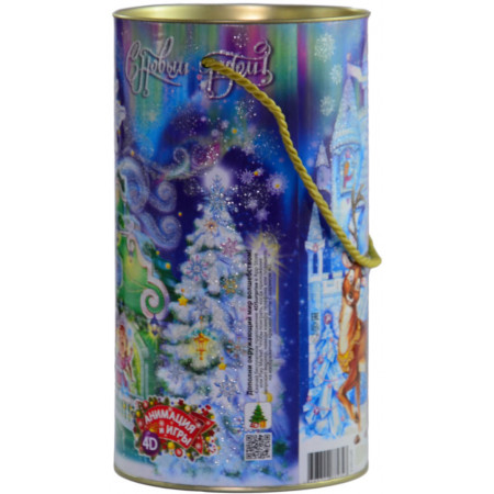 Туба Снегурочка 800 грамм стандарт