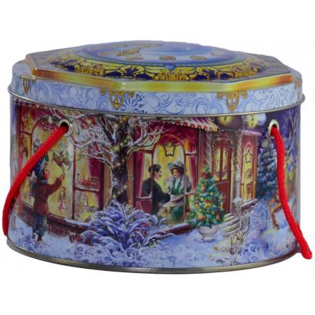 Шкатулка новогодняя 600 грамм премиум