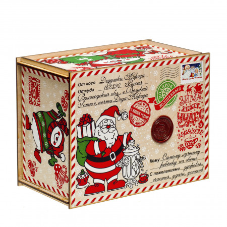 Посылка от Деда Мороза Евро 800 грамм элит