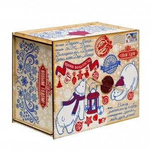 Посылка от Деда Мороза Северная сказка 1300 грамм элит
