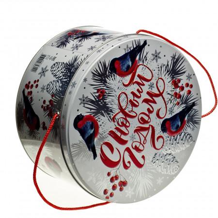 Сладкий новогодний подарок Снегири 2500 грамм премиум