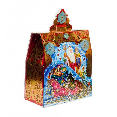 Сладкий новогодний подарок Сани Деда Мороза 1500 грамм элит