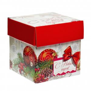 Куб красный 1700 грамм премиум
