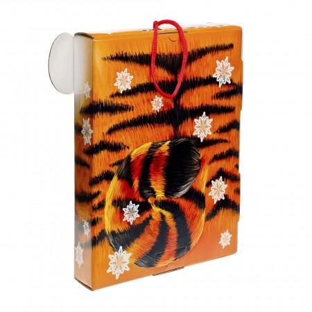Сладкий новогодний подарок Тигренок 1100 грамм премиум