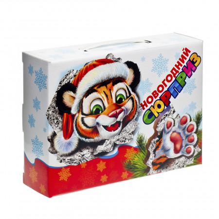 Сладкий новогодний подарок Новогодний сюрприз 1000 грамм премиум