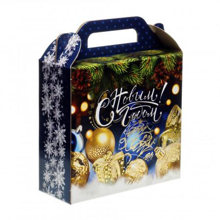 Сладкий новогодний подарок Новогоднее настроение 900 грамм стандарт