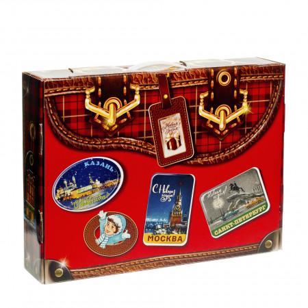 Новогодний багаж красный 1000 грамм стандарт