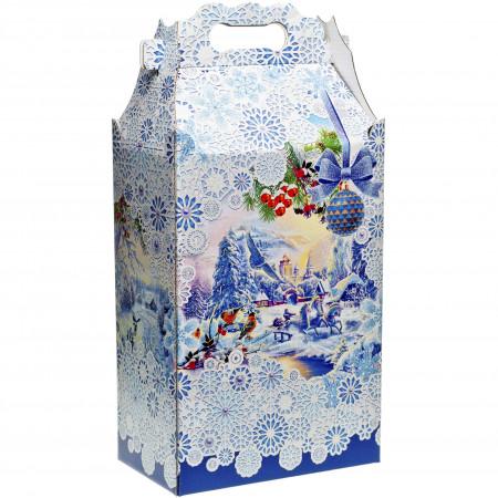 Подарок большой Новогодние узоры 2500 грамм премиум