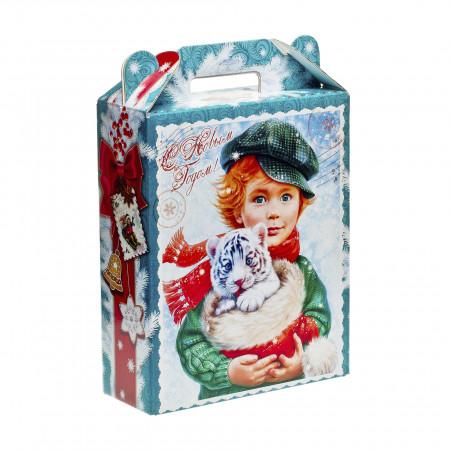 Сладкий новогодний подарок Подарок Ретро 800 грамм премиум