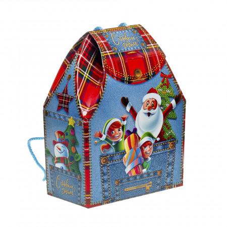 Сладкий новогодний подарок Рюкзачок 700 грамм премиум