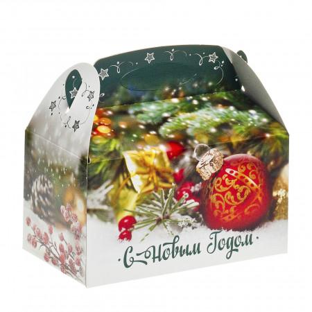 Сладкий новогодний подарок С Рождеством 500 грамм премиум