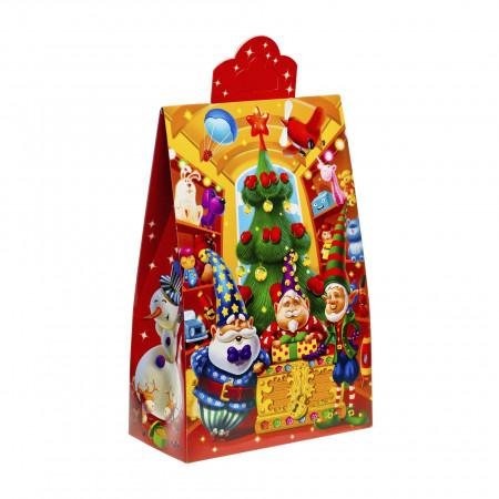 Сладкий новогодний подарок Пакет Гномы 800 грамм стандарт