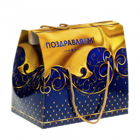 Сладкий новогодний подарок Кейс Корпоратив 1000 грамм элит