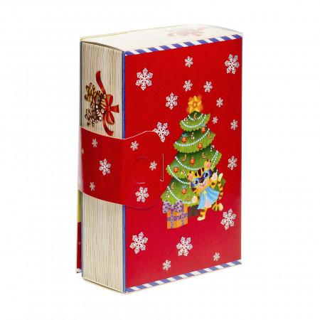 Сладкий новогодний подарок Книга развлекайка 500 грамм стандарт