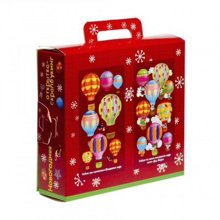 Сладкий новогодний подарок Подарок с поделкой 800 грамм элит