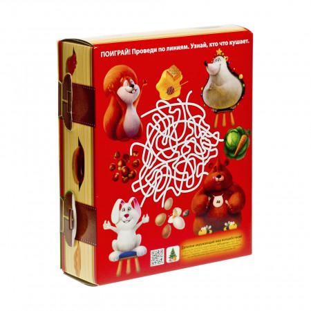 Сладкий новогодний подарок Книга с игрой Праздничные угощения 800 грамм стандарт
