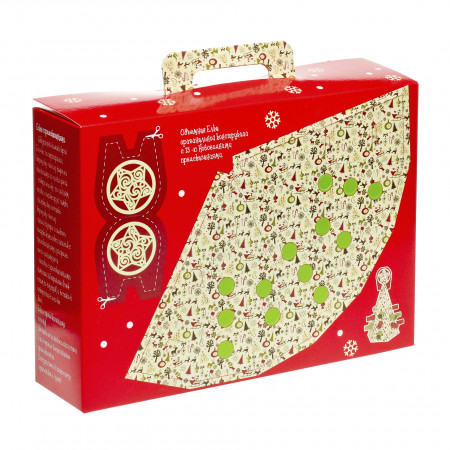 Сладкий новогодний подарок Подарок с забавами 800 грамм элит