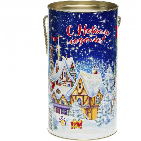 Сладкий новогодний подарок Туба Городок 800 грамм стандарт