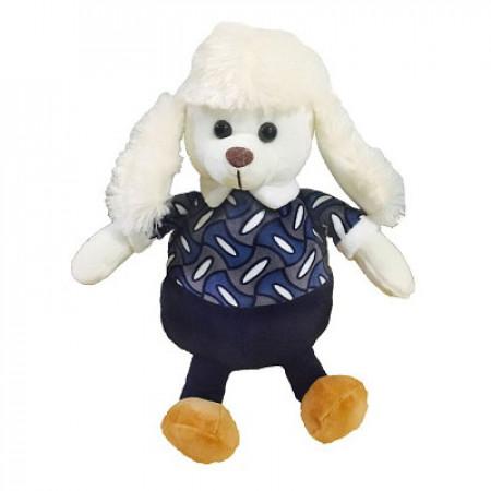 """Сладкий детский новогодний подарок """"Белик"""" в мягкой упаковке-игрушке в комплектации элит"""