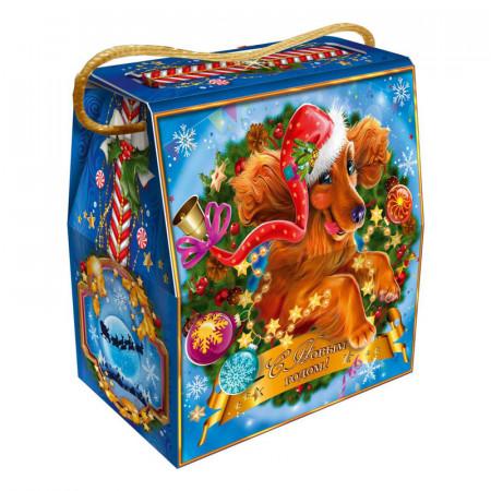 """Новогодний подарок """"Символ года"""" 1100 грамм стандарт в упаковке из микрогофрокартона"""
